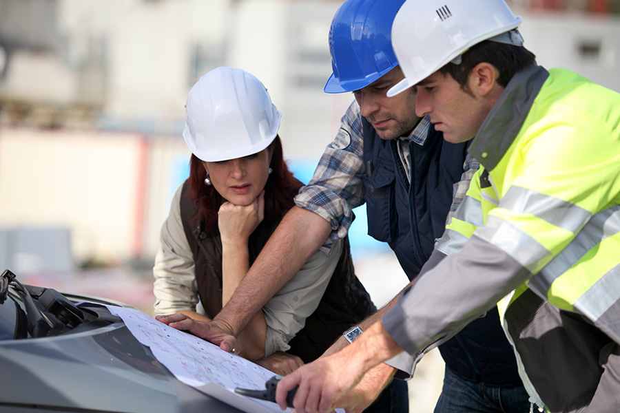 protection de chantier